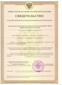 Свидетельство МИНфст 25.06.13г.